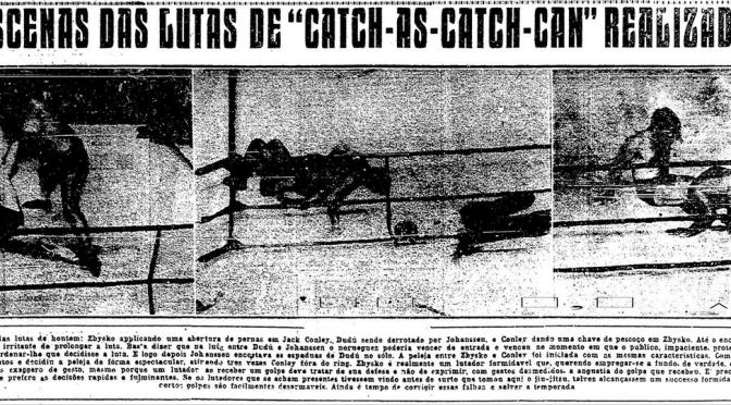Introdução do Catch no Brazil